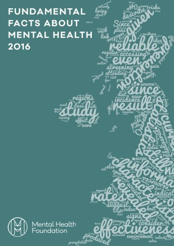 FUNDAMENTAL FACTS ABOUT MENTAL HEALTH 2016