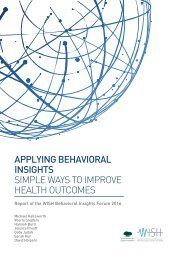 SIMPLE WAYS TO IMPROVE HEALTH OUTCOMES