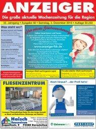 Anzeiger Ausgabe 48/16