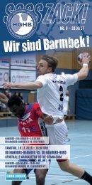 SSSSZACK! HGHB vs. SG Hamburg-Nord