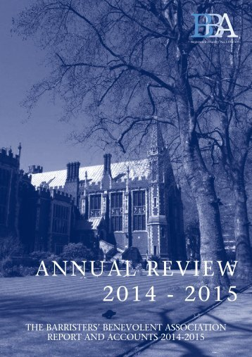 ANNUAL REVIEW 2014 - 2015
