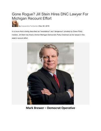 Michigan Recount Effort