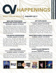 West Palm Beach January 2017 Happenings