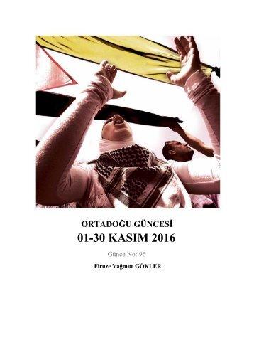 01‐30 KASIM 2016