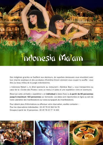 Indonesia Malam Brochure FR Europa-Park