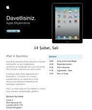 invitation iPad 2 in business