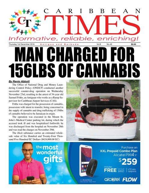Caribbean Times 48th Issue - Thursday 1st December 2016