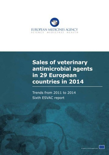 Sales of veterinary antimicrobial agents in 29 European countries in 2014