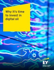 Why it's time to invest in digital oil