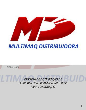 CATALOGO MULTIMAQ
