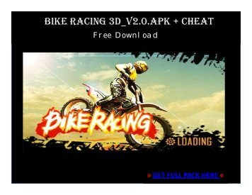 Bike Racing 3D_v2.0.APK + CHEAT FREE DOWNLOAD