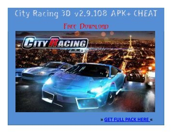 City Racing 3D_v2.9.108_APK+ CHEAT FREE DOWNLOAD