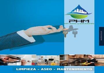 Brochure PHMservicios light