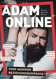 Adam online Nr. 49 Vorschau