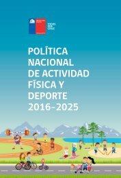 Política Nacional de Actividad Física y Deporte 2016-2025