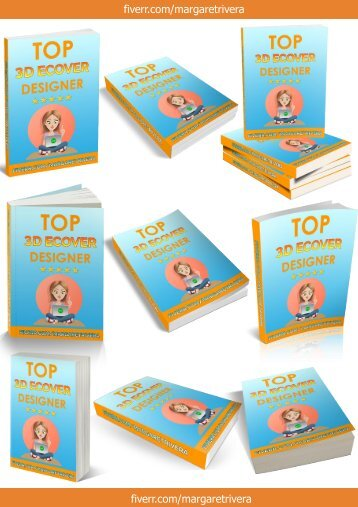 3D Ebook Cover Report Box CD DVD Template_PAPERBACK BOOK