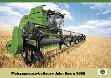 Moissonneuse-batteuse John Deere S690
