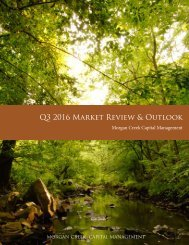 Q3 2016 Market Review & Outlook