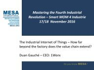 Duan Gauche  - MESA Africa Conference Presentation 2016