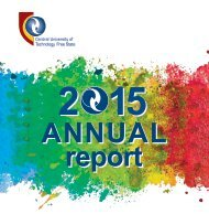 CUT Annual Report 2015