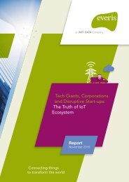 Tech Giants Corporations and Disruptive Start-ups The Truth of IoT Ecosystem