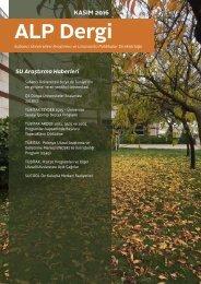 ALP Dergi - Kasım