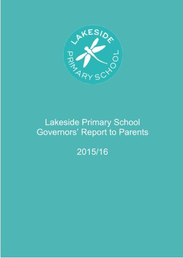 Governors' Report to Parents 2015/16