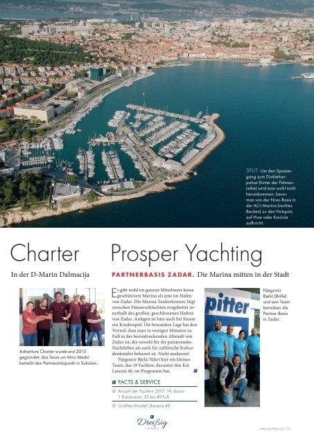 30 Jahre Pitter Yachtcharter