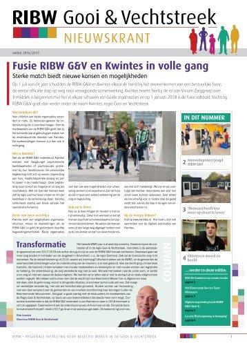 Nieuwskrant_RIBW G&V winter 2016-2017