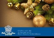 la Navidad en el Hotel Palacio Valderrábanos