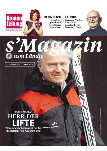 s'Magazin usm Ländle, 4. Dezember 2016