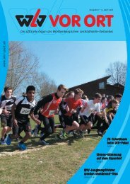 WLV vor Ort, Ausgabe 07-2016