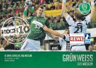 GRÜNWEISS – das Magazin der DHfK-Handballer – Heft 08 – Saison 2016/17