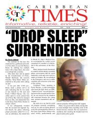 Caribbean Times 49th Issue - Friday 2nd December 2016