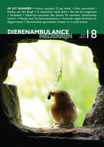 Dierenambulance Nederrijn Magazine - 18