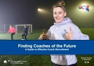 Finding Coaches of the Future