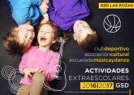 ACTIVIDADES EXTRAESCOLARES 2016 2017 GSD  