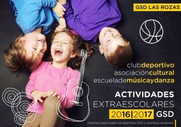 ACTIVIDADES EXTRAESCOLARES 2016|2017 GSD |