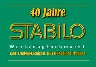 40 Jahre STABILO Werkzeugfachmarkt (02.11.16)
