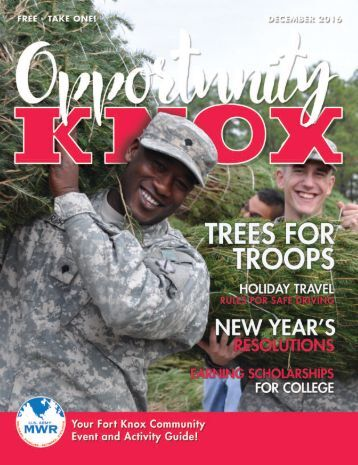 Opportunity Knox Magazine December 2016