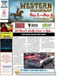 Dec 2—Dec 4 Gail Marvel's Weekly Cruisin' in Style..