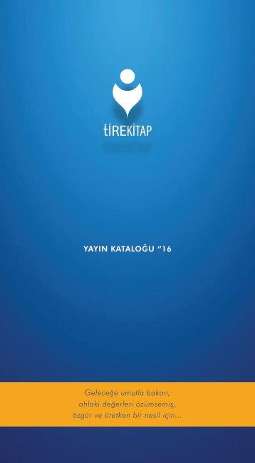 Tire Kitap Katalog - 2016
