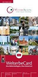 Reiseführer zur WelterbeCard