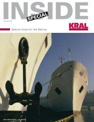 INSIDE Special Marine - KRAL AG