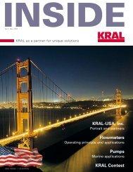 KRAL Contest Flowmeters KRAL-USA, Inc. Pumps