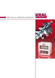 KRAL Electronics BEM 300 and BEM 500.