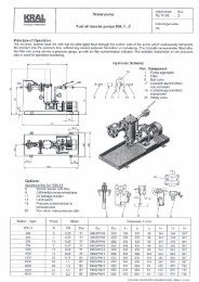 Screw-pump Fuel oil transfer pumps ENL11HE