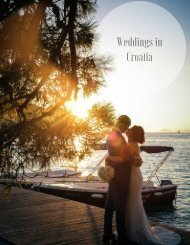 CR- Master Brochure - Weddings in Croatia