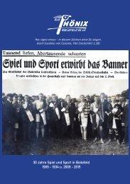 30 Jahre Spiel und Sport in Bielefeld - 2. Auflage eBook