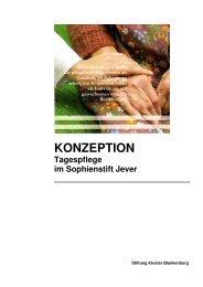 KONZEPTION Tagespflege im Sophienstift Jever